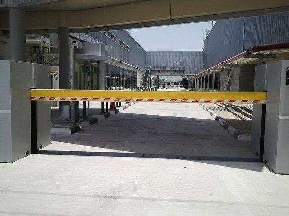 Barrière aéroport Abu-Dhabi